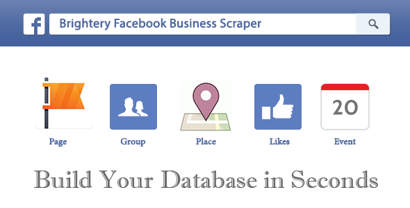 Brightery Facebook Business Scraper - click for preview